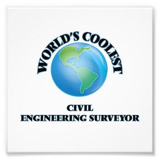 World's coolest Civil Engineering Surveyor Photographic Print
