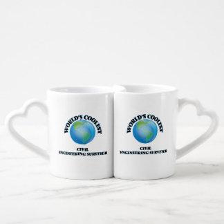 World's coolest Civil Engineering Surveyor Lovers Mugs