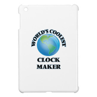 World's coolest Clock Maker iPad Mini Covers