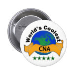 World's Coolest CNA Button