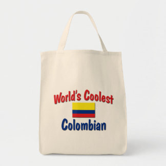 World's Coolest Colombian Tote Bag