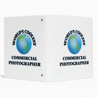 World's coolest Commercial Photographer Vinyl Binder