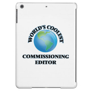 World's coolest Commissioning Editor Cover For iPad Air
