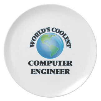 World's coolest Computer Engineer Party Plate