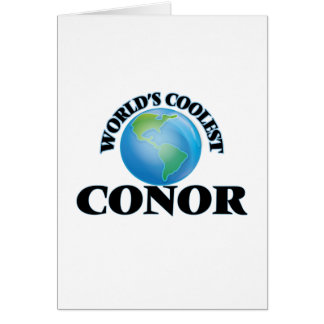 World's Coolest Conor Cards