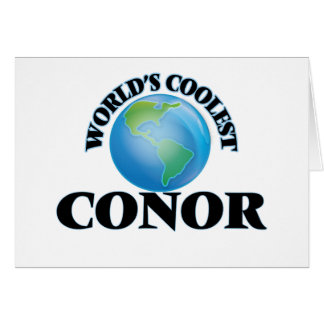 World's Coolest Conor Greeting Card
