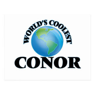 World's Coolest Conor Postcard