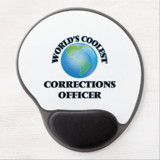 World's coolest Corrections Officer Gel Mouse Pads