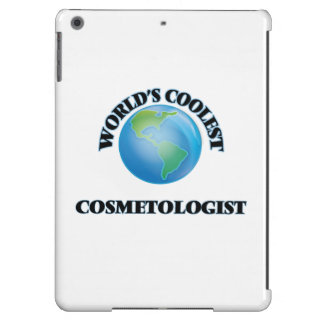 World's coolest Cosmetologist iPad Air Cover