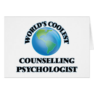 World's coolest Counselling Psychologist Cards