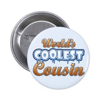 World's Coolest Cousin Button