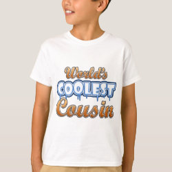 Kids' Hanes TAGLESS® T-Shirt with World's Coolest Cousin design
