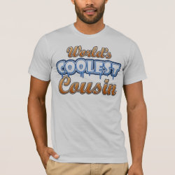 World's Coolest Cousin Men's Basic American Apparel T-Shirt