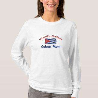 World's Coolest Cuban Mom T-Shirt