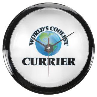 World's coolest Currier Fish Tank Clock