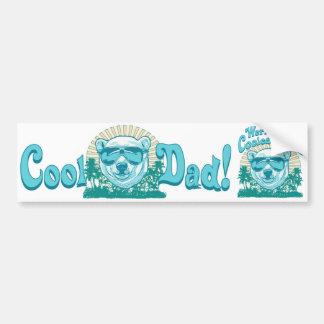 World's Coolest Dad Bumper Sticker
