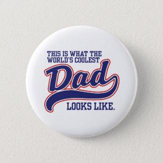 World's Coolest Dad Button