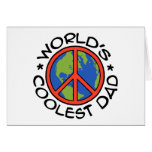 World's Coolest Dad Greeting Cards