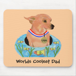Worlds Coolest Dad Mouse Pad