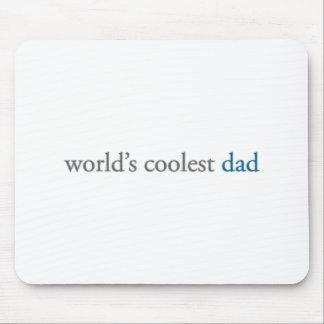world's coolest dad mouse mat