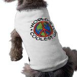 World's Coolest Dad Pet T-shirt