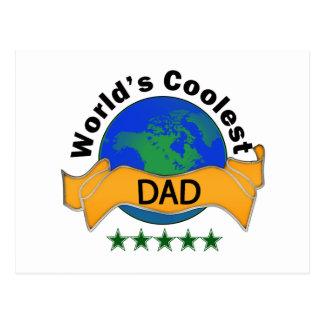 World's Coolest Dad Postcard
