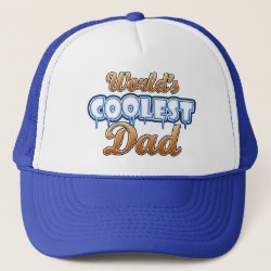 Trucker Hat with World's Coolest Dad design