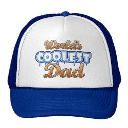 Trucker Hat with World's Coolest Dad design