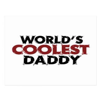 Worlds Coolest Daddy Postcard