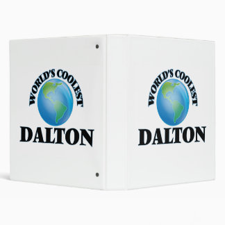 World's Coolest Dalton 3 Ring Binders