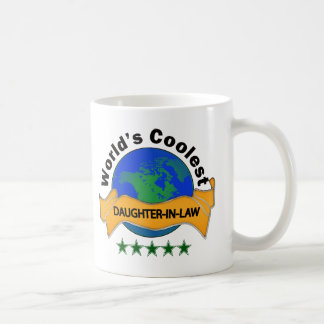 World's Coolest Daughter-In-Law Coffee Mug
