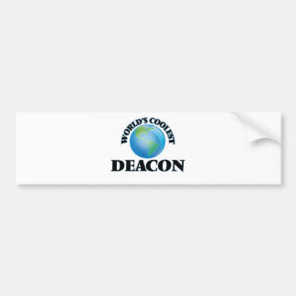 World's coolest Deacon Car Bumper Sticker