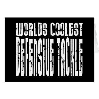 Worlds Coolest Defensive Tackle Card