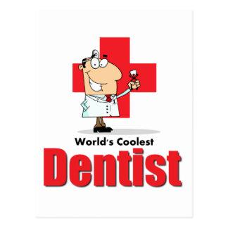 World's Coolest Dentist Postcard