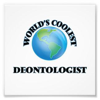 World's coolest Deontologist Photo Print