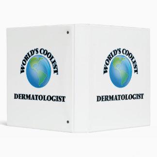 World's coolest Dermatologist Vinyl Binder