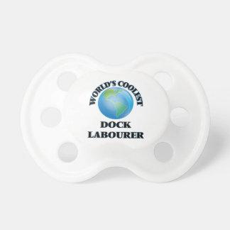 World's coolest Dock Labourer BooginHead Pacifier