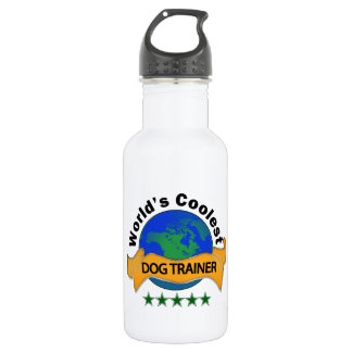World's Coolest Dog Trainer Water Bottle