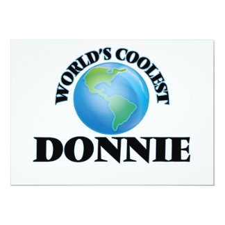 World's Coolest Donnie Cards