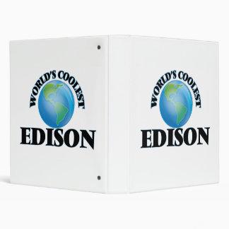 World's Coolest Edison 3 Ring Binders