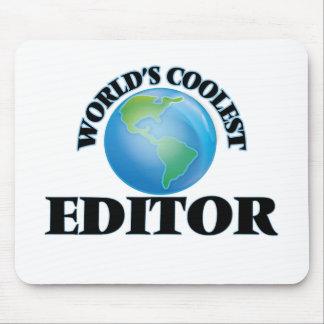 wORLD'S COOLEST eDITOR Mousepad