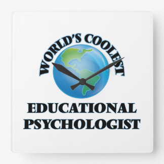 wORLD'S COOLEST eDUCATIONAL pSYCHOLOGIST Clocks