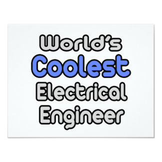 World's Coolest Electrical Engineer Card