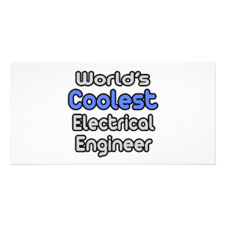 World's Coolest Electrical Engineer Photo Greeting Card