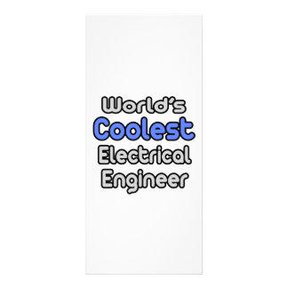 World's Coolest Electrical Engineer Custom Rack Card