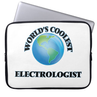 wORLD'S COOLEST eLECTROLOGIST Computer Sleeve