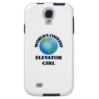 wORLD'S COOLEST eLEVATOR gIRL Galaxy S4 Case