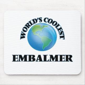 wORLD'S COOLEST eMBALMER Mousepads