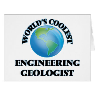 World's coolest Engineering Geologist Cards