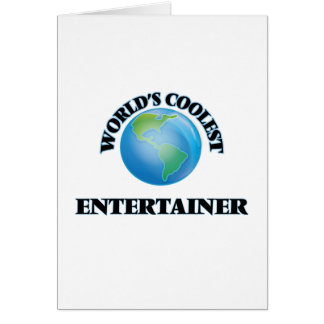 World's coolest Entertainer Card
